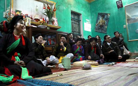 Ra mắt câu lạc bộ Quan họ huyện Yên Phong – Bắc Ninh