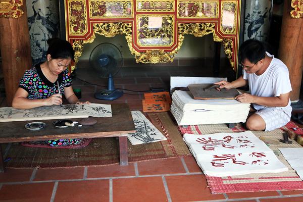 [Caption]Tại không gian nghệ thuật của nghệ nhân Nguyễn Đăng Chế