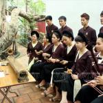 Lớp âm nhạc truyền thống ở đình cổ Hào Nam