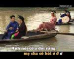 Sông Cầu nước chảy lơ thơ – Karaoke